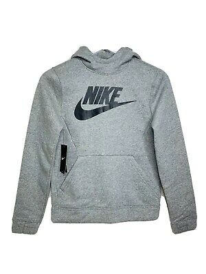 New Grey NIKE boys Hoodie  Age 10 -12 Years Youth Size M