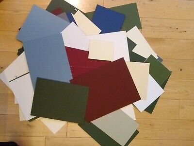 Card off-cuts, mountboard offcuts for artists, sketches, small card crafting