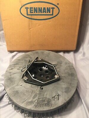"Tennant 1018457 Super Abrasive Scrub Brush Assembly Disk 13"" OEM Part New"