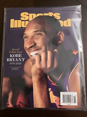 FREE SHIP NOW Sports Illustrated Magazine 2020 Kobe Bryant Tribute Special Pkg