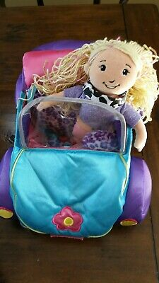 Groovy Girls💖Car Convertible-+ groovy girl Dolls lot of 2 adorable