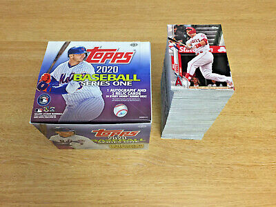 2020 Topps Series One 1 Baseball Complete Base Set Cards 1-350