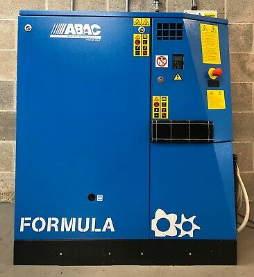ABAC Formula I 11 Variable Speed Drive Rotary Screw Compressor 13 - 62Cfm!