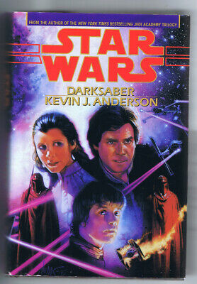 """Star Wards """"Dark Saber"""" by Kevin Anderson"""