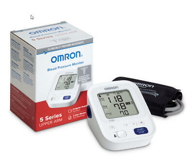 Omron 5 Series Wireless Upper Arm Blood Pressure Monitor New!