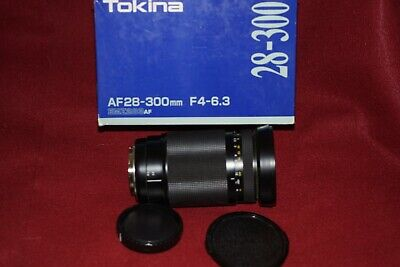 Tokina AF 28-300mm 1:40-6.3 Zoom lens for Minolta/Sony A. Exc. Cond. ( look )