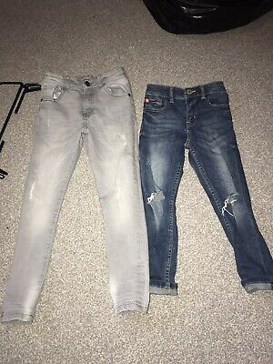 2 Pairs Of Boys Next Jeans Age 6 And 6-7