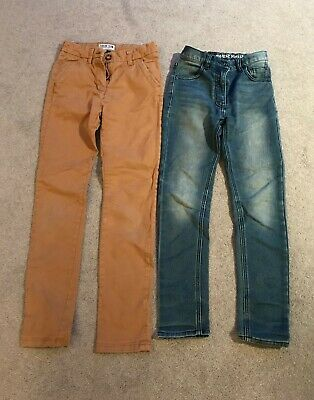 Boys Next Trousers and jeans  2 pairs Age 10 Years
