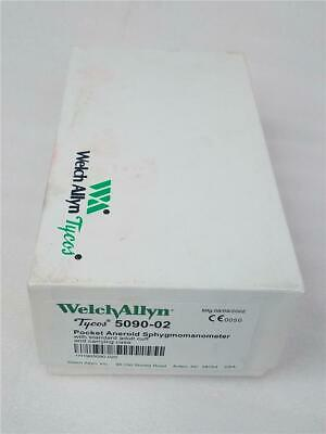 Welch Allyn Tycos Aneroid Sphygmomanometer Blood Pressure Adult Cuff 5090-02 EUC