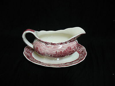 Palissy Pottery England Thames River Scenes Sauciere fawley court henley