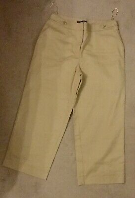 BNWT NEXT 12R Cropped Wide Leg Casual Trousers Collection