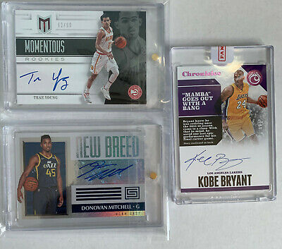 Kobe Bryant Auto! Trae Young Auto! Basketball Dutch Auction!!