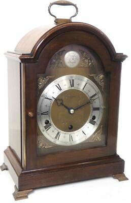 Antique Elliott Musical Bracket Clock Westminster Whittington Chime Mantel Clock