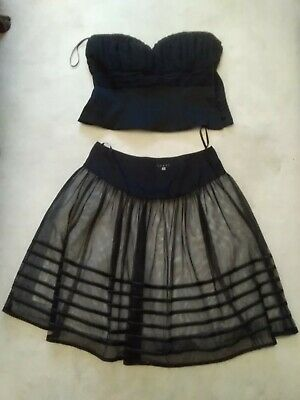 Coast Black Outfit Size16/18