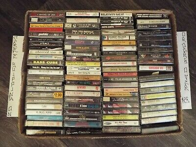 SEALED $3-$9 NEW CASSETTE TAPES ROCK R&B HIP HOP NEW JACK POP 70s 80s 90s B