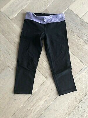 IVIVVA By Lululemon Girl's Black Activewear Leggings Size 10