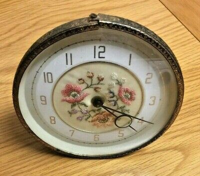 Regent Of London - Rare Vintage 1940s Dressing Table Clock - Spares or Repairs