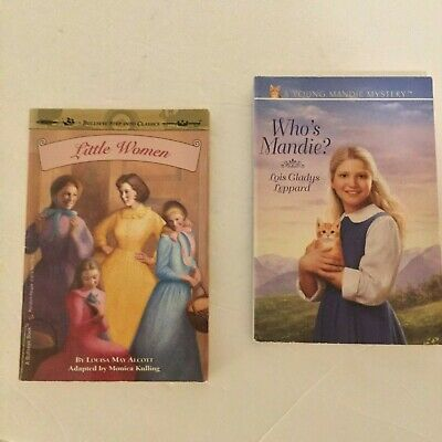 Little Women, Paperback by Alcott, Louisa May AND Who's Mandie Lois Gladys