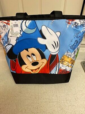Disney Parks Ink & Paint Mickey Sorcerer Tote Bag New with Tags