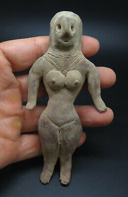 Ancient Indus Valley Harappan Terracotta Fertility Idol