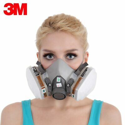 3M KN95 Dust Mask Respirator Headset 6200+2091 Anti-particulate Filters