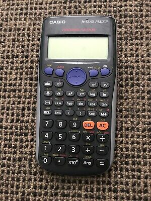 Casio FX82AU PLUS II Scientific Calculator