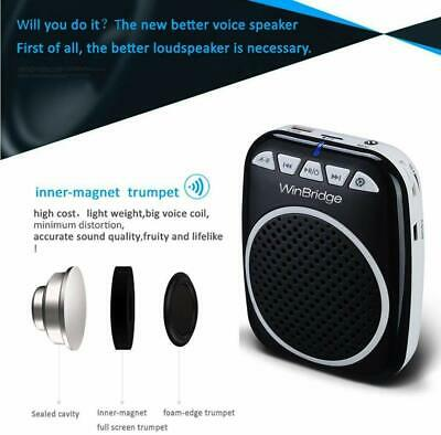 WB001 Rechargeable Ultralight Portable Voice Amplifier Waist Support MP3