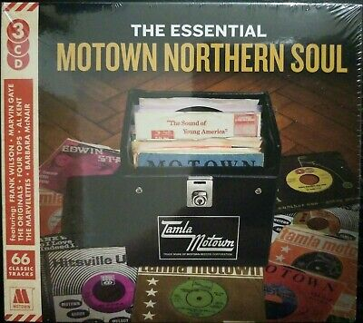 The Essential Motown Northern Soul - Digipack 3 CD Album - New & Sealed