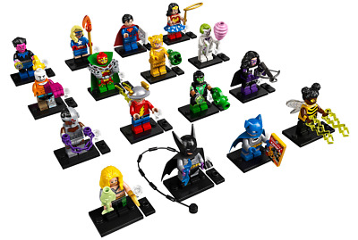 LEGO DC Super Heroes Minifigures 71026 - Complete Set of 16 SEALED PACKETS!