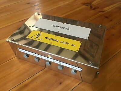 New Weidmuller 1002760000 Stainless Steel Junction Control Box 400 X 250 X 130 M