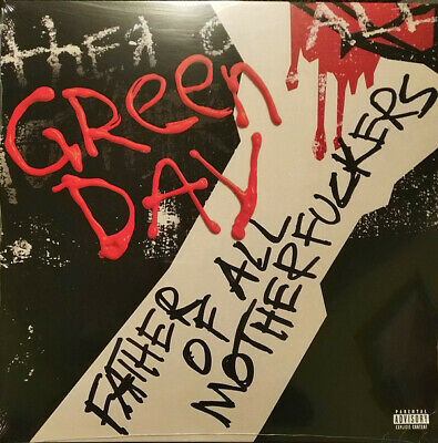 GREEN DAY - Father of all - Limited Explicit Cover Red/Black Vinyl LP - SOLD OUT