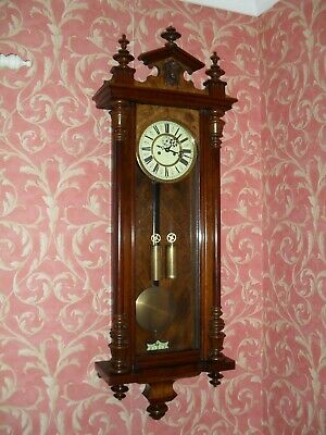 Very Good Antique Vienna Wall Clock (Completely Original)