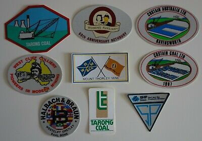 Lot19 Mixed Mining Stickers