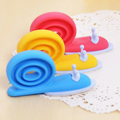 Plastic Baby Safety Door Stopper Protector Children Safe Snail Shape Door StopJB