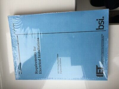 IET wiring regulations book 18th edition BS7671/2018