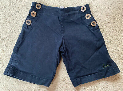 Girls Joules Navy Blue Shorts Age 3