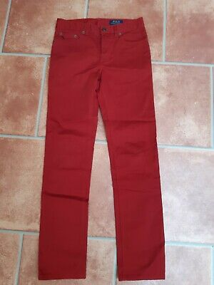 Polo Ralph Lauren chinos/Jeans. Red. Kids age 12