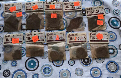 10 Packs Of  Rusty Tin-Tiques Different Sizes And Shapes