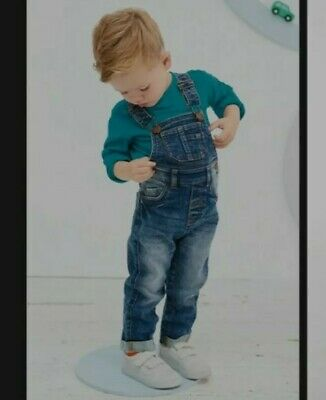 Next Dungarees 9-12 months only worn once for 3 hours in perfect condition