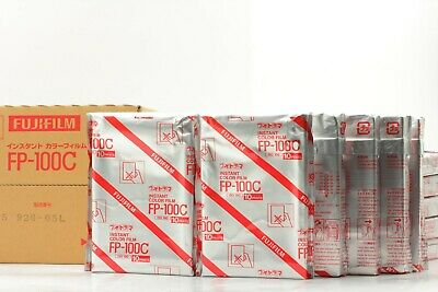 【 NEW 20 Film Packs * Expired 05/2017 】 Fujifilm FP-100C 8.5 x 10.8cm from JAPAN