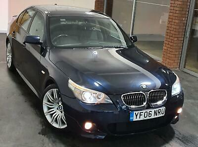 2007 BMW 530 i M Sport 3.0 L Petrol Automatic Saloon E60 Heated Leather Sat Nav