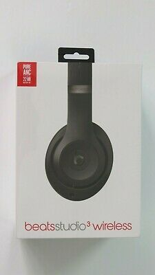 """New""   Beats By Dr Dre Studio 3  Over Ear Noise Cancelling Wireless Headphones"