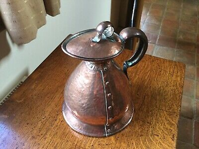 Arts & Crafts Copper Jug
