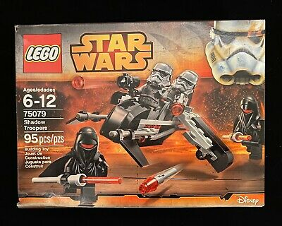 LEGO Star Wars Shadow Troopers (75079) 100% Complete. In Box, RARE MINIFIGURES
