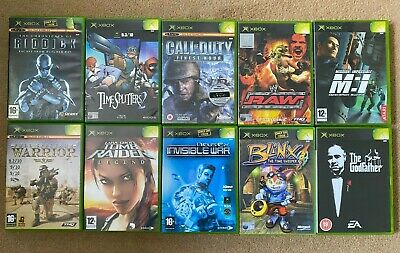 Original xbox games bundle - Joblot - XBOX GAME BUNDLE LOT - PAL