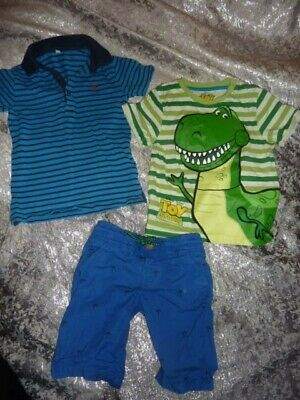 Boy Summer Bundle Marks and Spencer and Nut Meg 3-4 Years