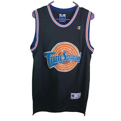 Champion Michael Jordan #23 Space Jam Tune Squad Jersey Vintage Black