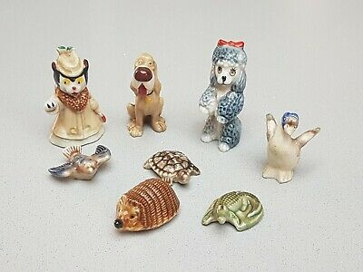 Collection Of Wade Figures & Whimsies - Noddy, Lady & the Tramp series