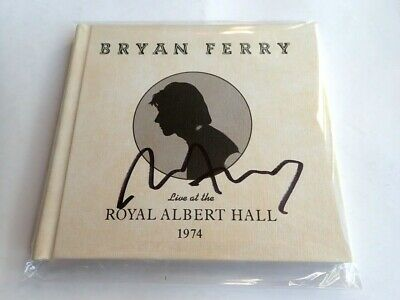 Bryan Ferry - Live At The Royal Albert Hall 1974 ** Signed ** Cd Album