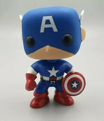 Funko Pop! Marvel Comics Vinyl Figure Captain America #06 - NO BOX